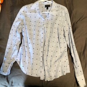 "JCrew ""Perfect shirt"" soft button up"